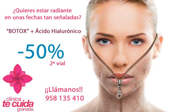 Botox y Ácido Hialurónico en tu Clínica de Estética en Granada